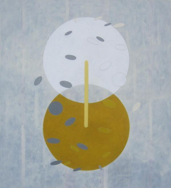 EMPATIE, 2015, 105 x 95 cm, akryl, plátno