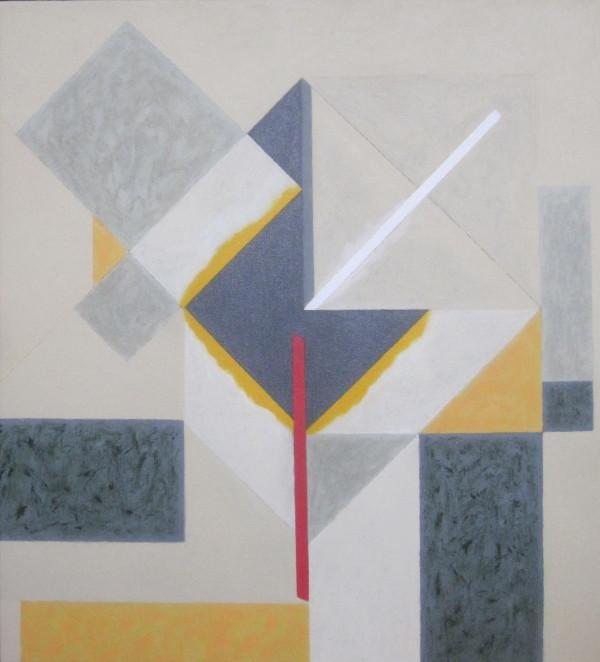 URIM & THUMIM, 7. 2015, 60 x 55 cm, akryl, plátno